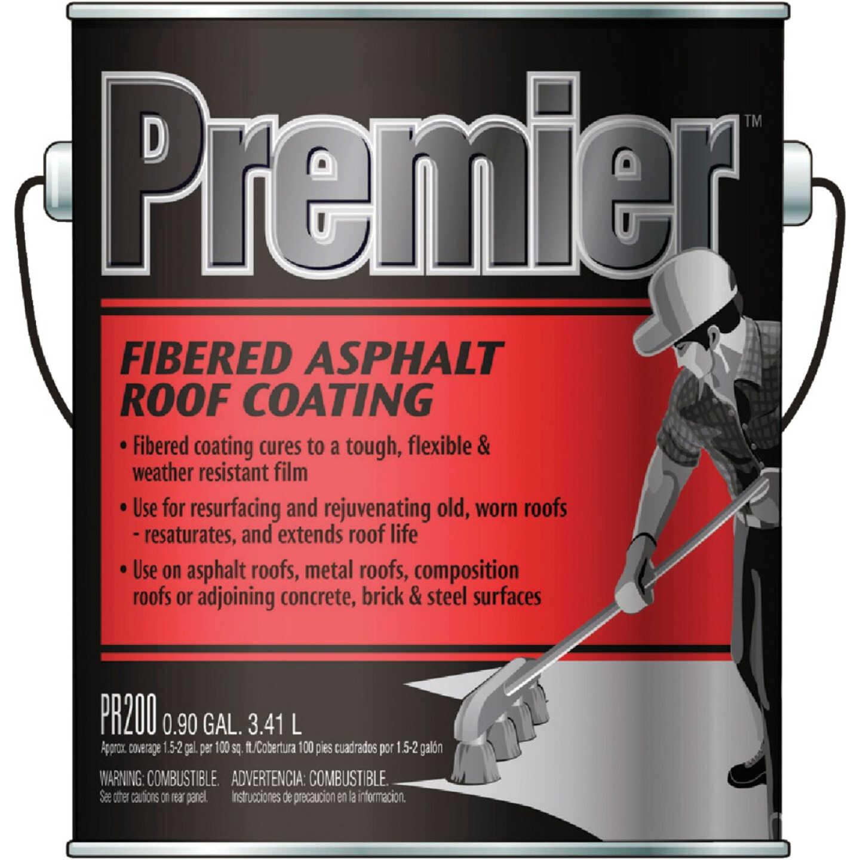 Premier 1 Gal. Fibered Asphalt Roof Coating Image 1