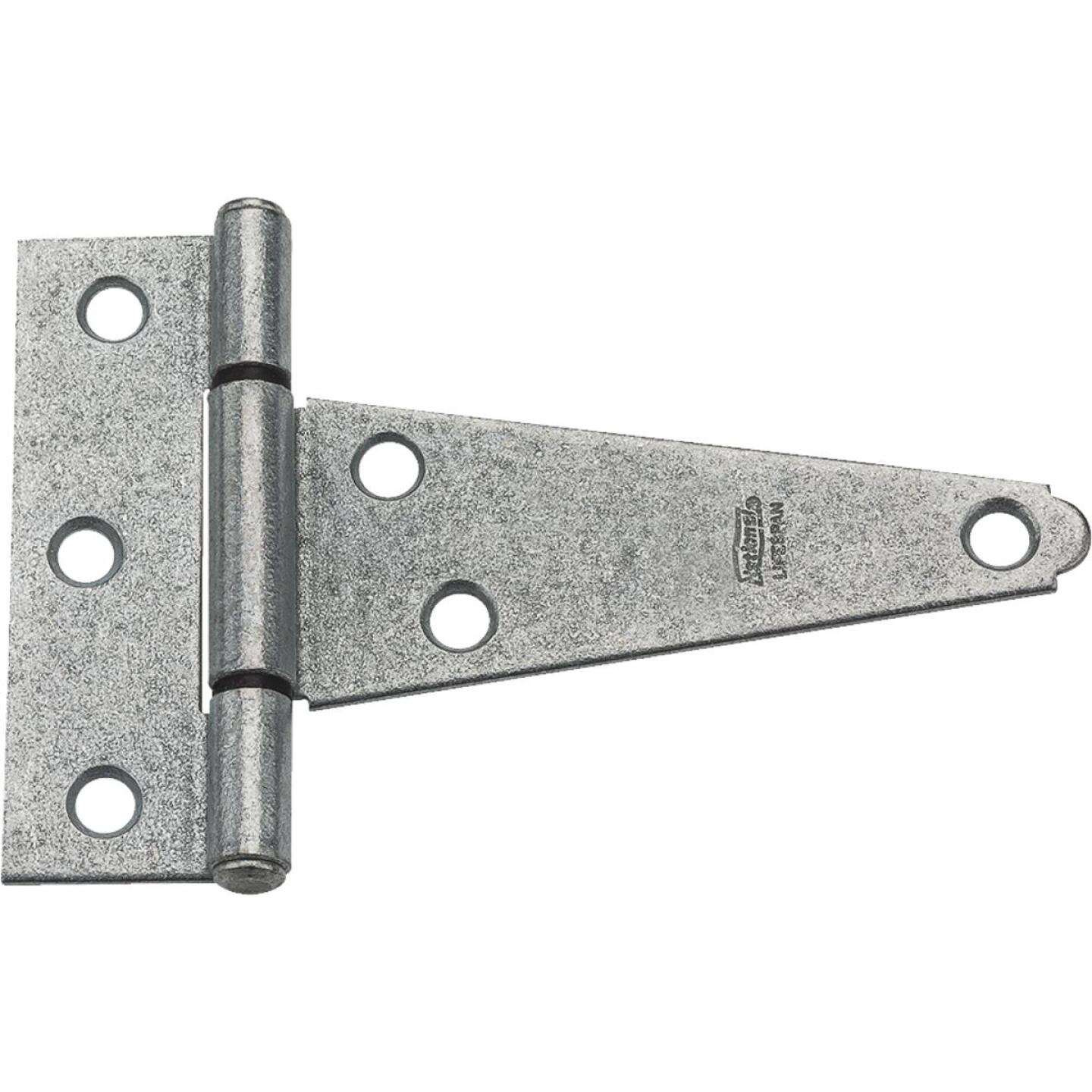 National 4 In. Galvanized Steel Heavy-Duty Tee Hinge Image 1