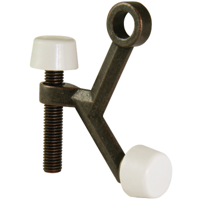 Ultra Hardware 3 In. Oil Rubbed Bronze Hinge Pin Door Stop