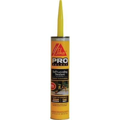 Sikaflex +  Self-Leveling Sealant 10.1 Oz. Gray Concrete Sealant