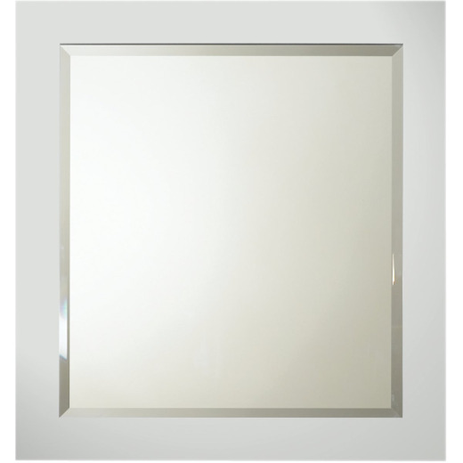 Bertch Lighthouse Gray 28 In. W x 30 In. H Framed Vanity Mirror