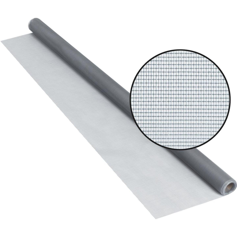 Phifer 36 In. x 84 In. Gray Fiberglass Screen Cloth Ready Rolls Image 1