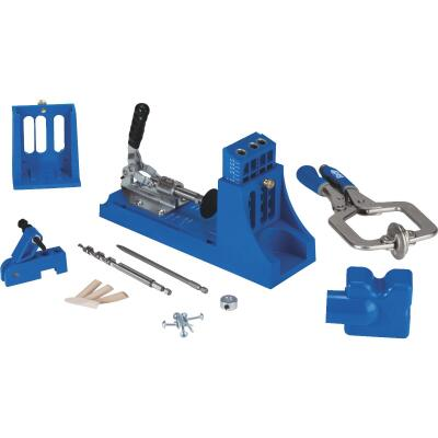 Kreg Jig K4 Master System Pocket Hole Guide with Bonus Accessories