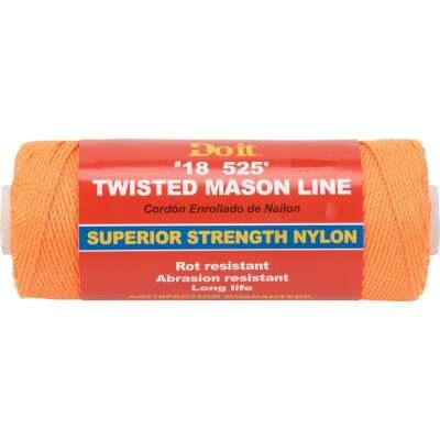 Do it 525 Ft. Fluorescent Orange Twisted Nylon Mason Line