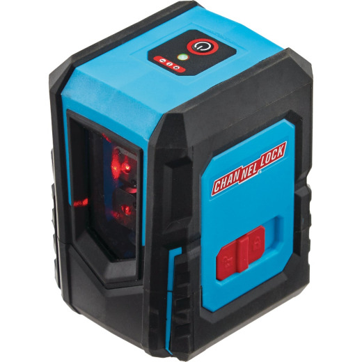 Channellock 30 Ft. Self-Leveling Cross-Line Laser Level