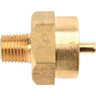 MR. HEATER 1 In.-20 FTCT x 1/4 In. MPT LP Cylinder Adapter