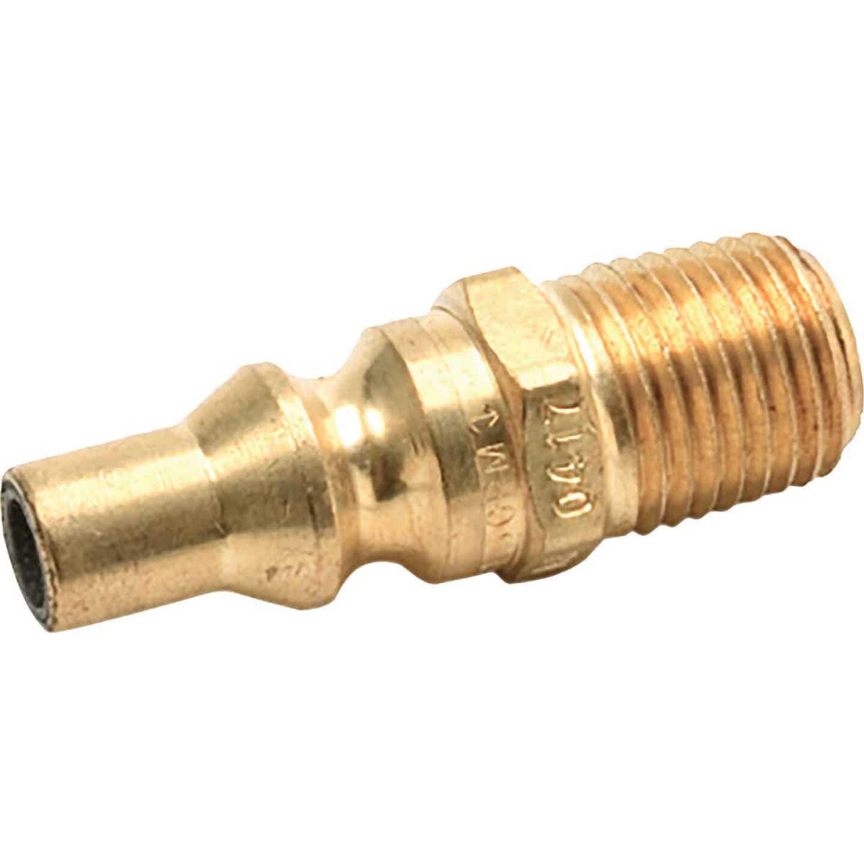 MR. HEATER Male Plug Quick Connect x 1/4 In. MPT F276334, Gas Mate II Quick Connect Male Plug Image 1