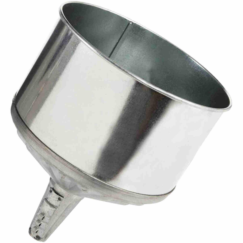 Delphos 8 Qt. Galvanized Steel Lock-On Funnel Image 1