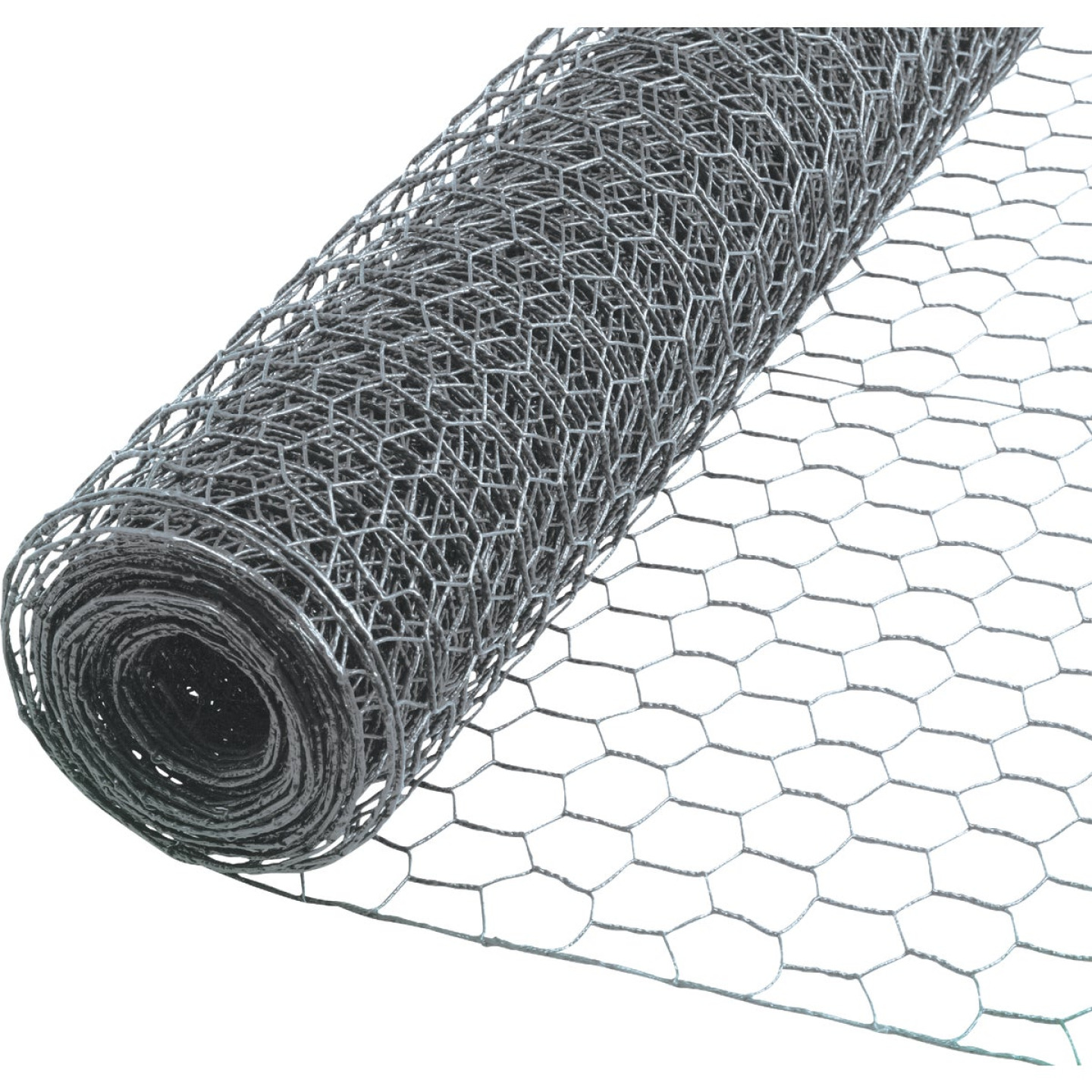 Do it 1 In. x 48 In. H. x 50 Ft. L. Hexagonal Wire Poultry Netting Image 1