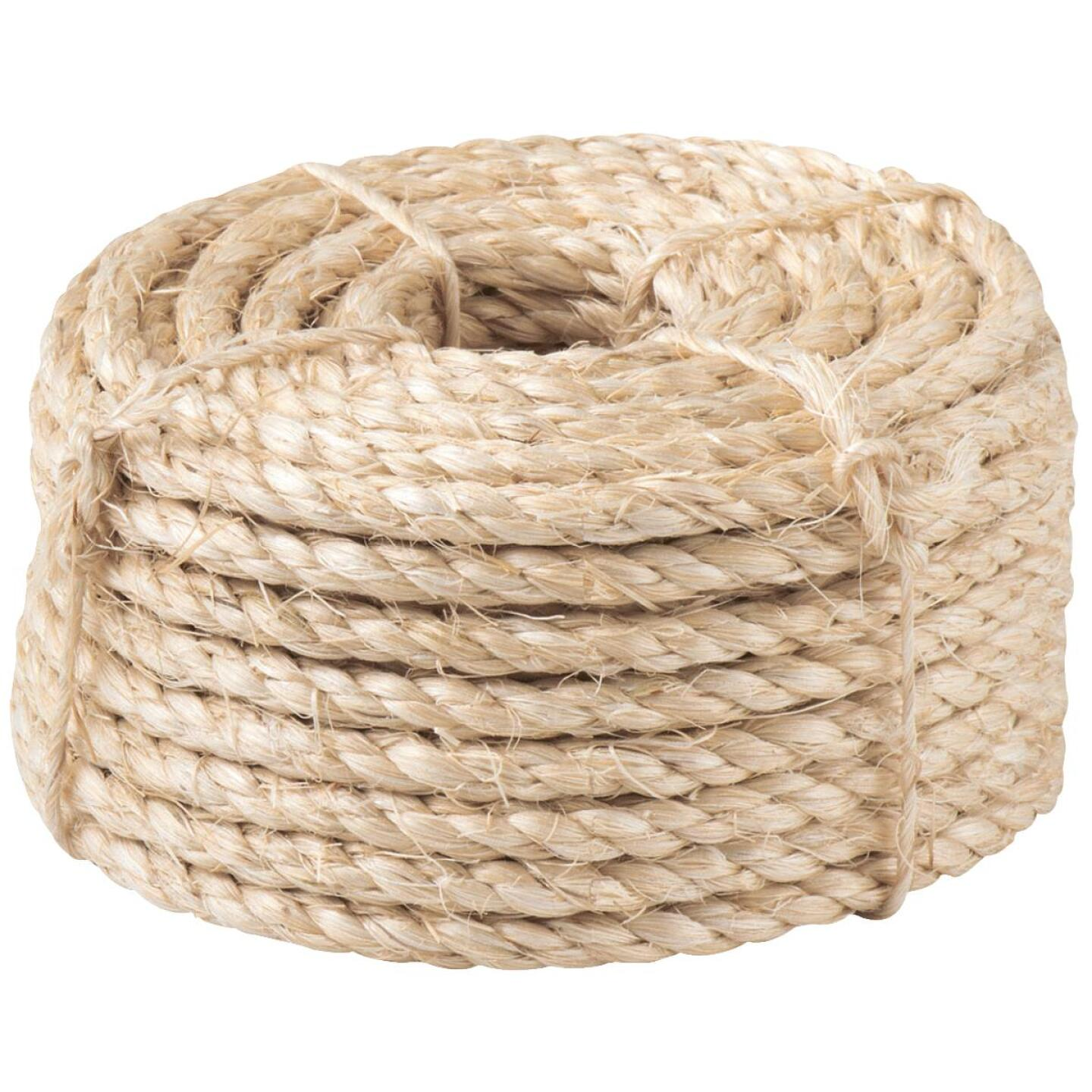 Do it 1/4 In. x 50 Ft. Natural Twisted Sisal Fiber Packaged Rope Image 2