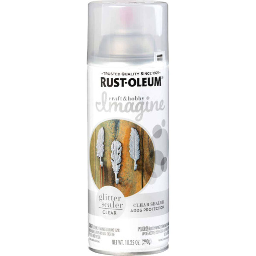 Rust-Oleum Imagine Craft & Hobby 10.25 Oz. Intense Glitter Sealer Spray Paint