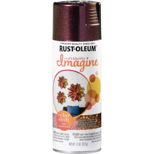Rust-Oleum 11 Oz. Champagne Pink Imagine Craft & Hobby Color Shift Spray Paint