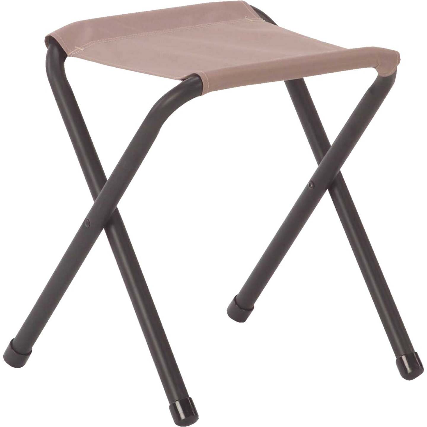 Coleman Rambler II 15-1/2 In. W. x 17 In. H. x 12-4/5 In. D. Powder-Coated Aluminum Camp Stool Image 1
