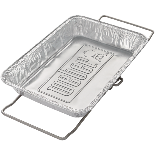 Weber SmokeFire 9.65 In. W. x 13.59 In. L. Disposable Plated Steel Wet Smoke Kit